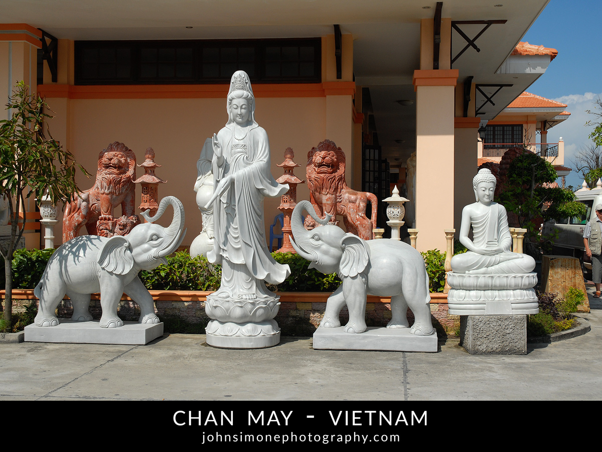 A photo montage by John Simone Photography on Chan May, Vietnam