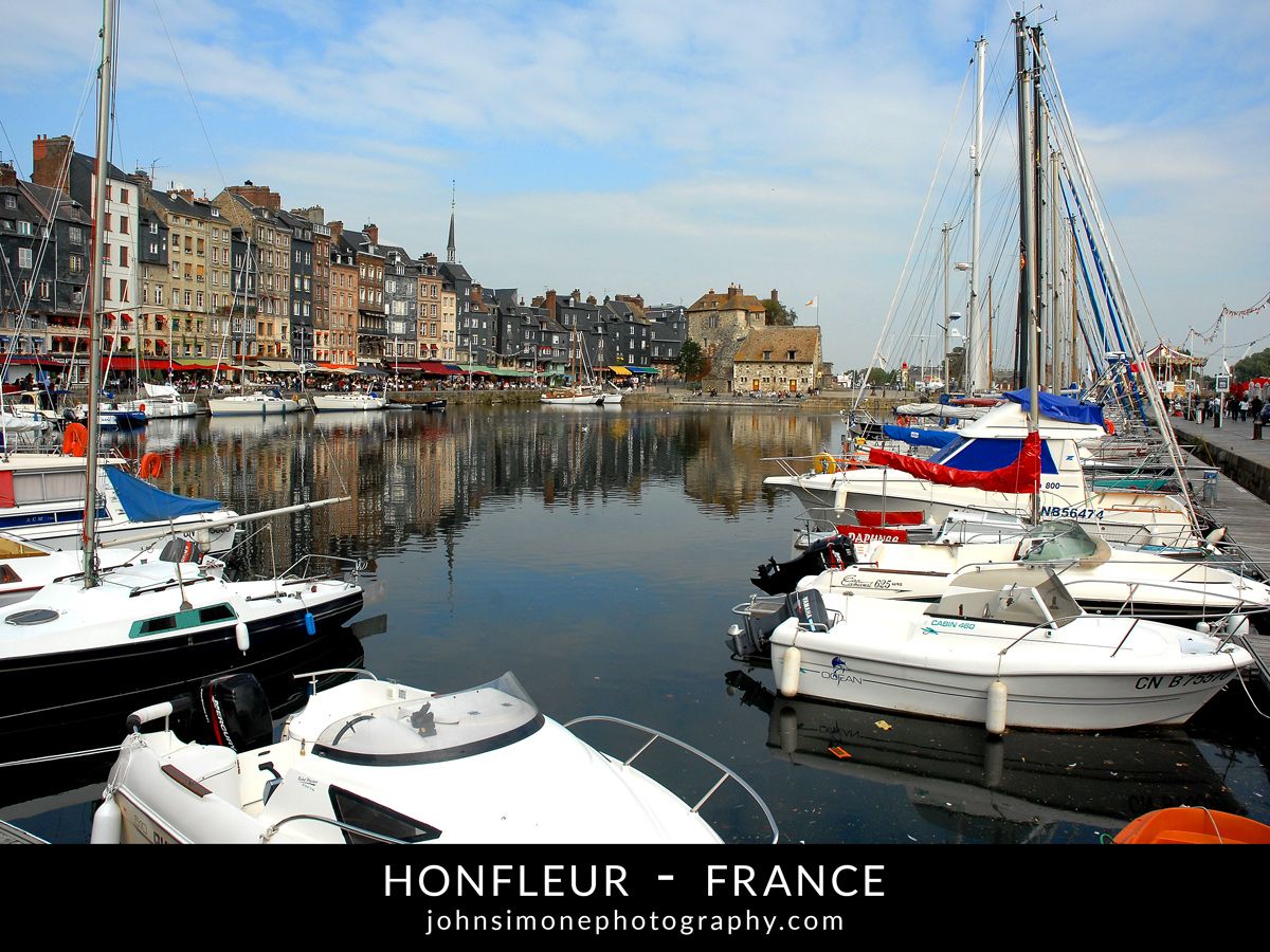 A photo-essay by John Simone Photography on Honfleur, France