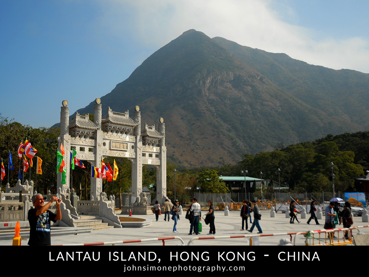 A photo montage by John Simone Photography on Lantau Island, Hong Kong, China