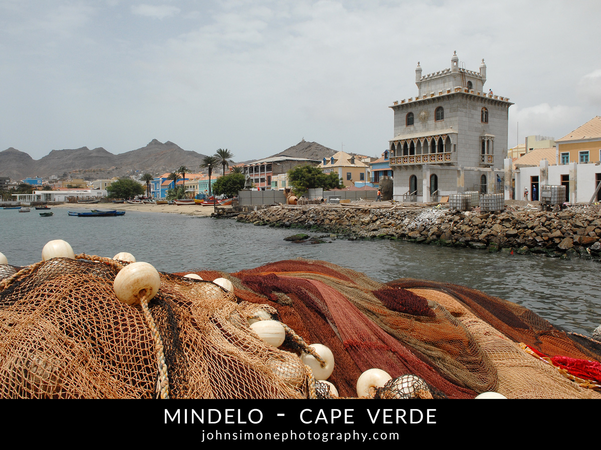 A photo montage by John Simone Photography on Mindelo, Cape Verde
