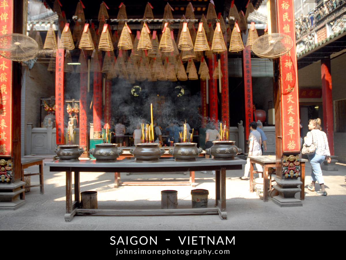A photo montage by John Simone Photography on Saigon, Vietnam