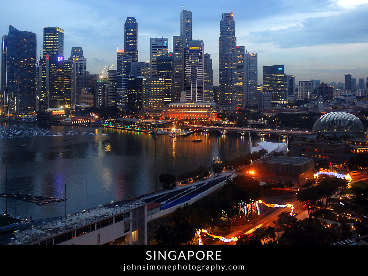 A photo-essay by John Simone Photography on Singapore